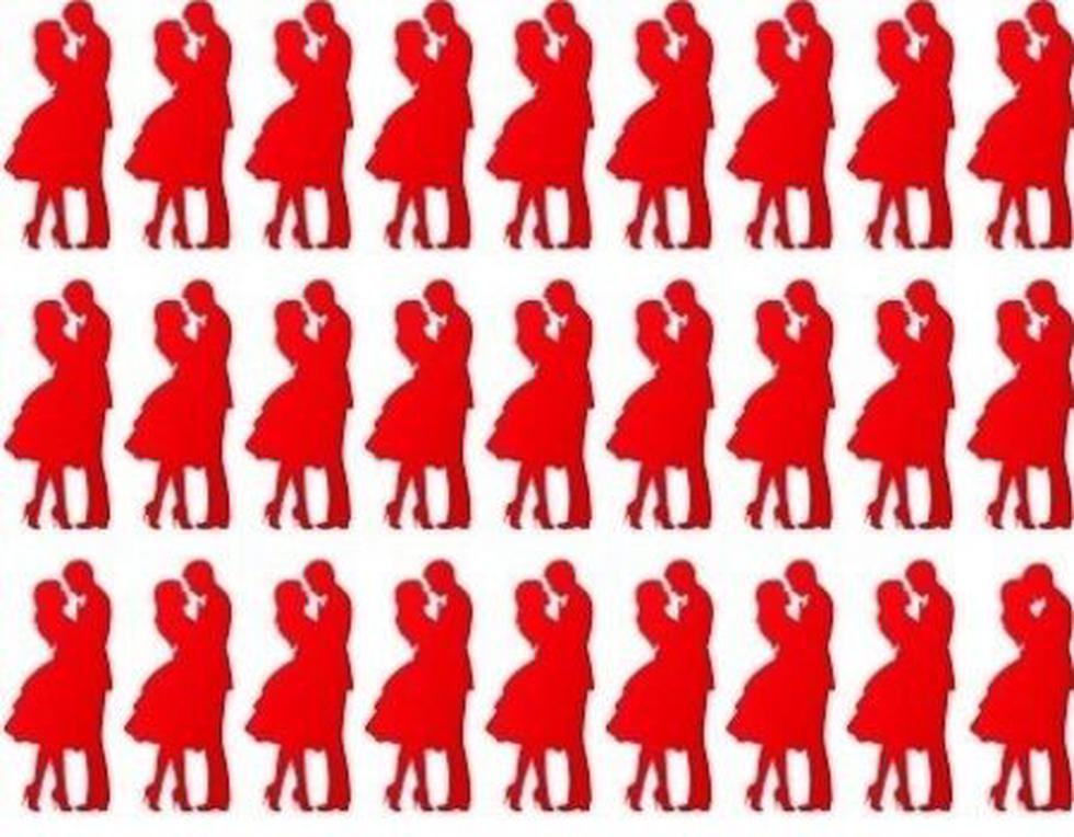 Ubica cuál es la pareja de baile distinta a las demás y agudiza tu profundidad visual. (Difusión)
