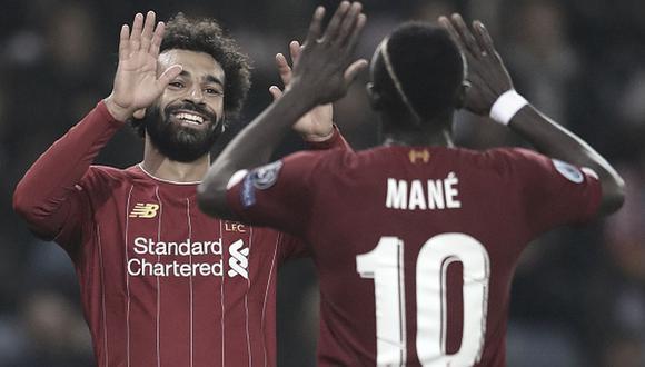 Mohamed Salah y Sadio Mané ganaron la Champions League con Liverpool en 2019. (Getty)