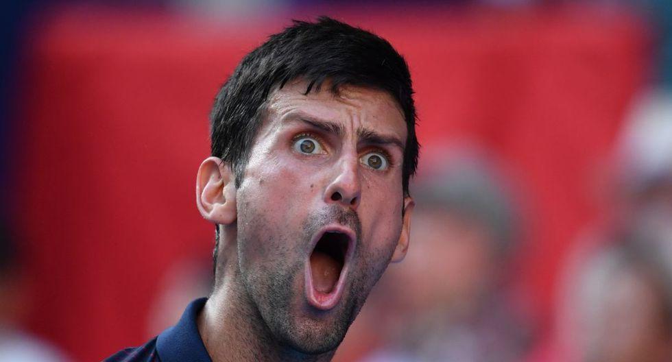 Djokovic junto a Nadal y Federer son los tres más grandes tenistas actuales del circuito ATP. (Foto: AFP)