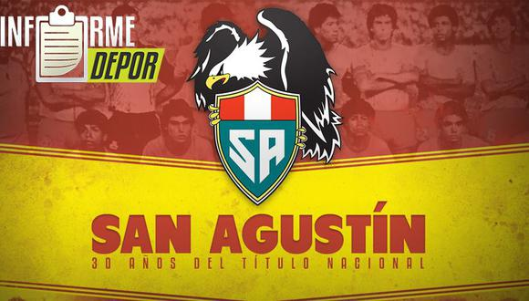 Colegio San Agustín debutó en Primera División en 1985. (Diseño: Marcelo Hidalgo)