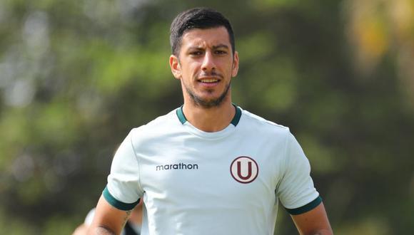 Federico Alonso habló con miras al debut de la 'U' por la Copa Bicentenario 2021. (Foto: prensa 'U')