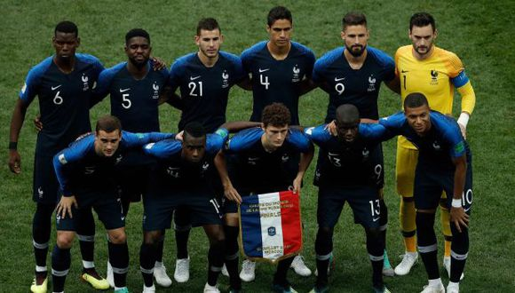 Francia logró su segunda estrella en el Mundial en Rusia 2018. (Foto: AFP)