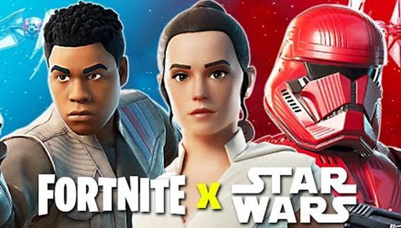 Fortnite x Star Wars: entérate donde encontrar las Espadas de Luz y Rifles Bláster.