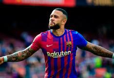 Decepcionado: el mensaje de Memphis Depay tras la derrota del Barcelona ante el Real Madrid
