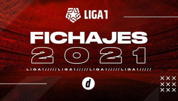 Fichajes 2021: altas, bajas y rumores del mercado de pases del fútbol peruano (Diseño: GEC)