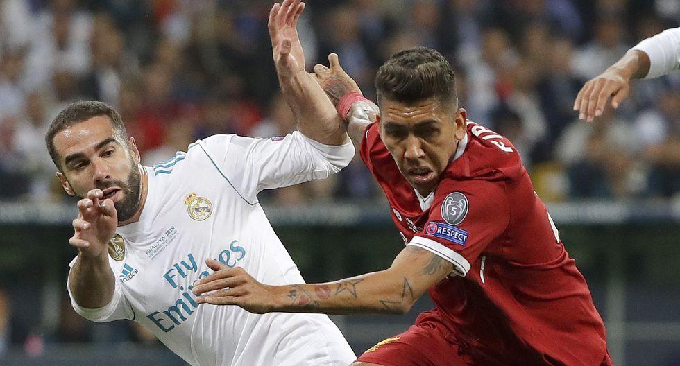 Real Madrid y Liverpool disputaron la final de la Champions League en el 2017.