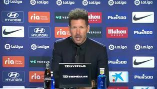 """Simeone: """"Hay una mejora mucho más allá del resultado de hoy"""""""