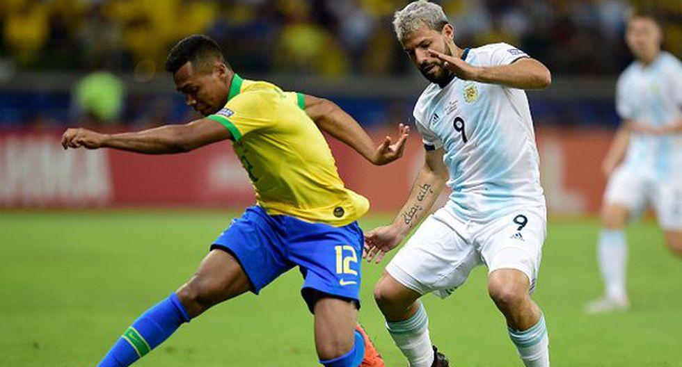 Ver la narración del partido entre Brasil vs Argentina EN VIVO partido hoy goles por Copa América 2019. (Getty)