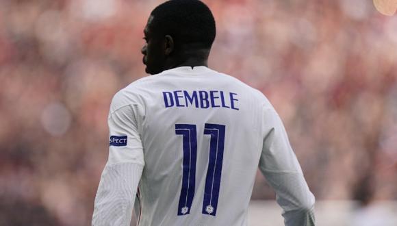 Ousmane Dembélé se pierde el resto de la Eurocopa con Francia. (Foto: EFE)
