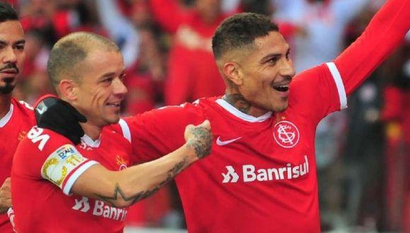Paolo Guerrero tiene 24 goles con camiseta de Internacional de Porto Alegre. (Foto: Internacional de Porto Alegre)