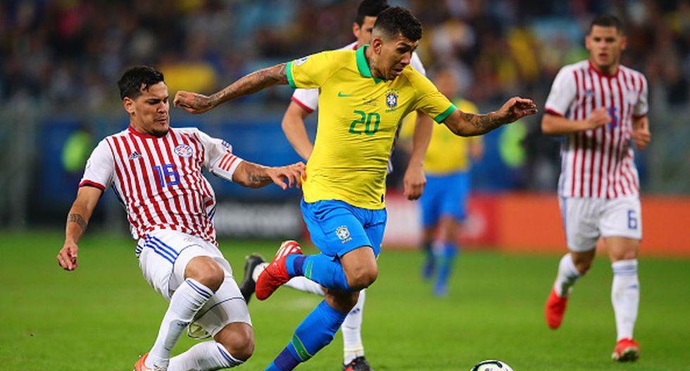 Copa América   Firmino - Brasil (Foto: Getty Images)