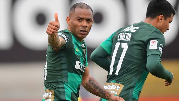 Wilmer Aguirre manifestó su deseo de jugar junto a Guerrero y Farfán en Alianza Lima. (Foto: Liga 1)