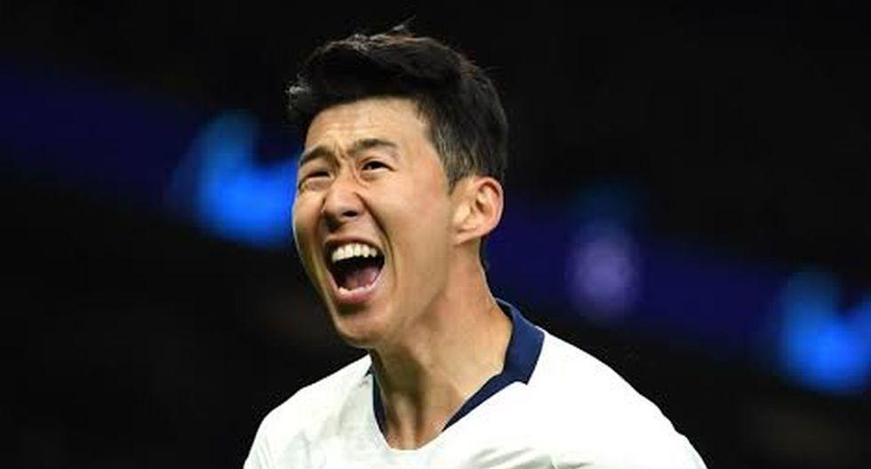 4. Son Heung Min del Tottenham - 5 goles. (Foto: Getty)