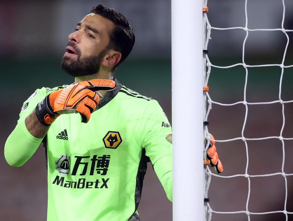 10. Rui Patricio (Wolves): 13 partidos sin recibir goles.  (Foto: AFP)