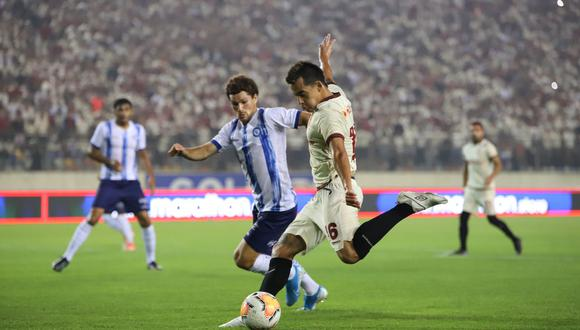 Universitario cayó 1-0 ante Cerro Largo por la 'Noche Crema' (Foto: GEC)