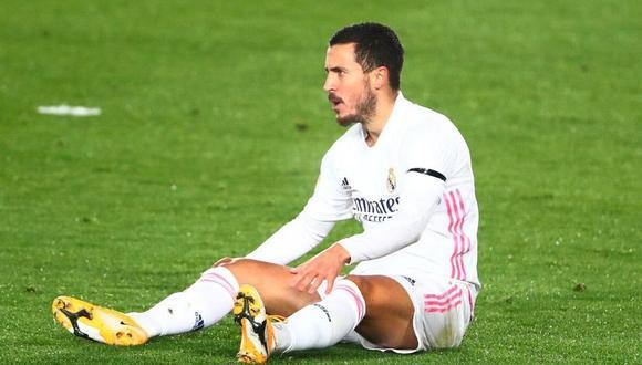 Eden Hazard y su drama con las lesiones (Foto: Reuters)