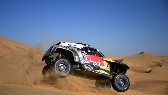 Stéphane Peterhansel ganó la Etapa 9 del Dakar 2021 entre Neom y Neom. (Foto: AFP)
