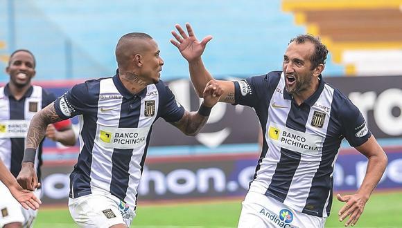 Arley Rodríguez anotó el 1-0 de Alianza Lima vs. Sport Boys. (Foto: Alianza Lima)