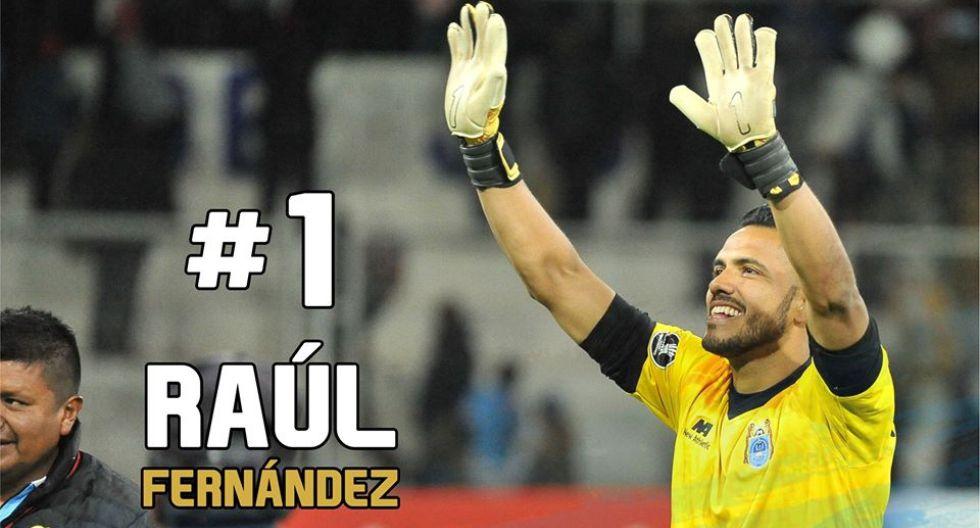 Raúl Fernández fue reconocido por CONMEBOL. (Foto: Binacional)