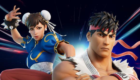 Fortnite: Ryu y Chun-Li llegan a la tienda del Battle Royale. (Foto: Epic Games)