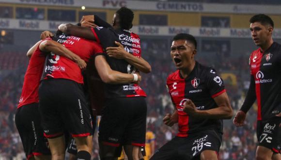 Tigres vs. Atlas se vieron las caras este sábado por el repechaje de la Liga MX 2021 (Foto: @atlasfc)