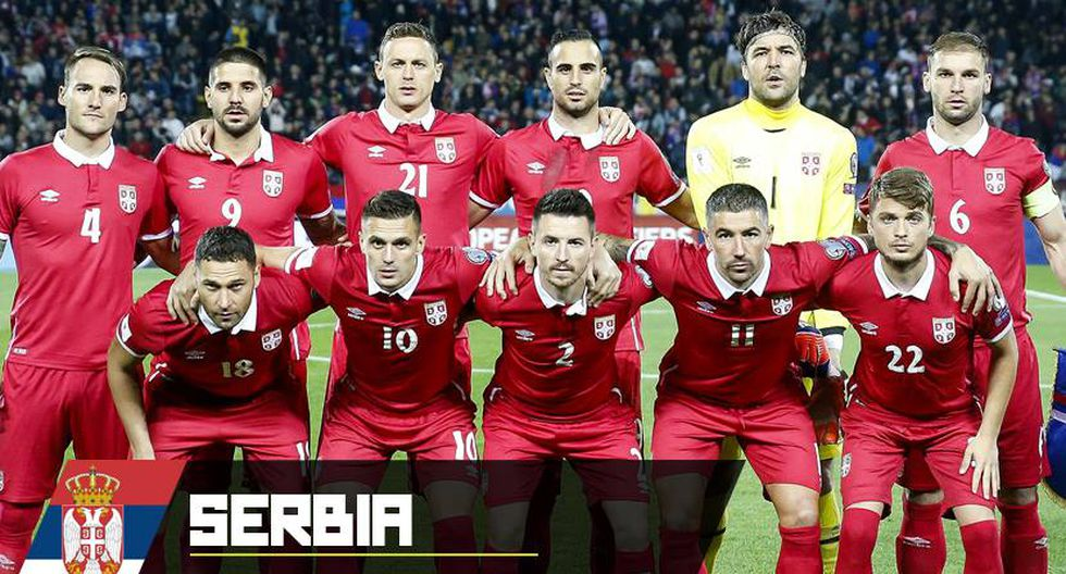 Serbia integra el Grupo E del Mundial con Brasil, Suiza y Costa Rica. (Depor)