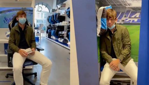 Marten De Roon, jugador de Atalanta, vivió una experiencia decepcionante en la tienda del club. (Foto: Captura)