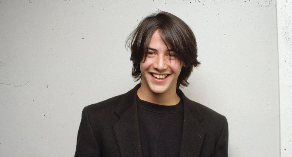 Keanu Reeves y sus 16 fotos exclusivas de los 90 que muestran su moda de hipster (Foto: Vogue France)