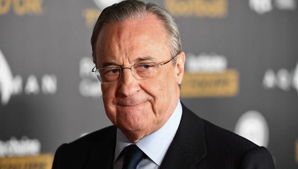 Florentino Pérez ha iniciado una demanda contra 'El Confidencial' por la publicación de audios. (Foto: AFP)