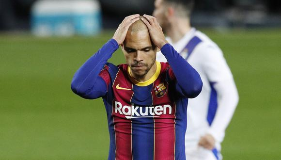 Martin Braithwaite lleva tre goles en la temporada con el FC Barcelona. (Foto: Reuters)
