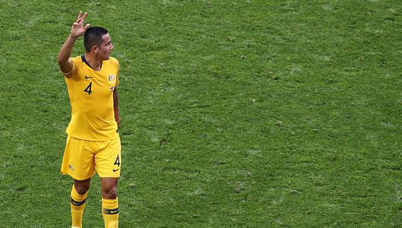 Cahill debutó con Australia en el 2004. (Getty)
