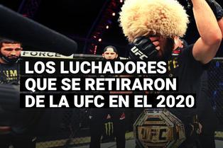 Estos son los grandes luchadores que se retiraron de la UFC en el 2020