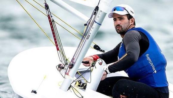 """Stefano Peschiera se prepara para Tokio 2020: """"En Río estaba perdido, pero en Japón seré un local más"""". (Sailing Energy)"""