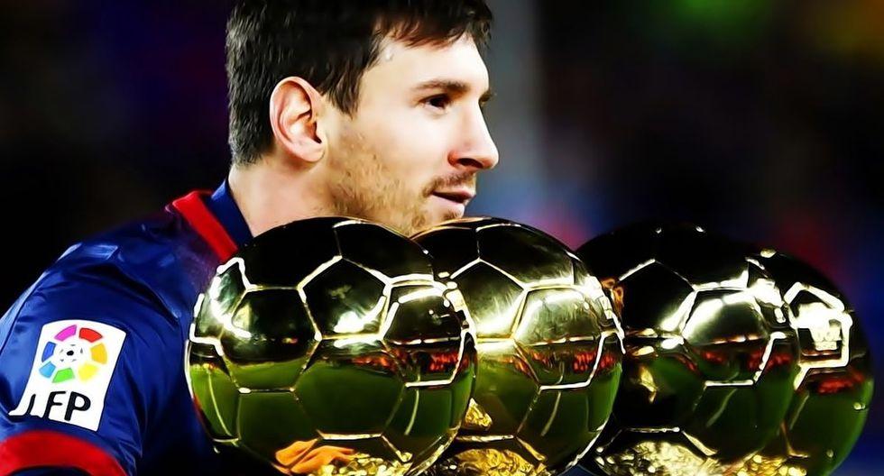 De ganar el Balón de Oro este lunes, Lionel Messi sumaría su sexto premio de este tipo. (Foto: Agencias)