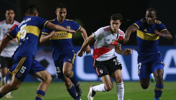 Boca eliminó a River en octavos de final de la Copa Argentina (Foto: AFP).