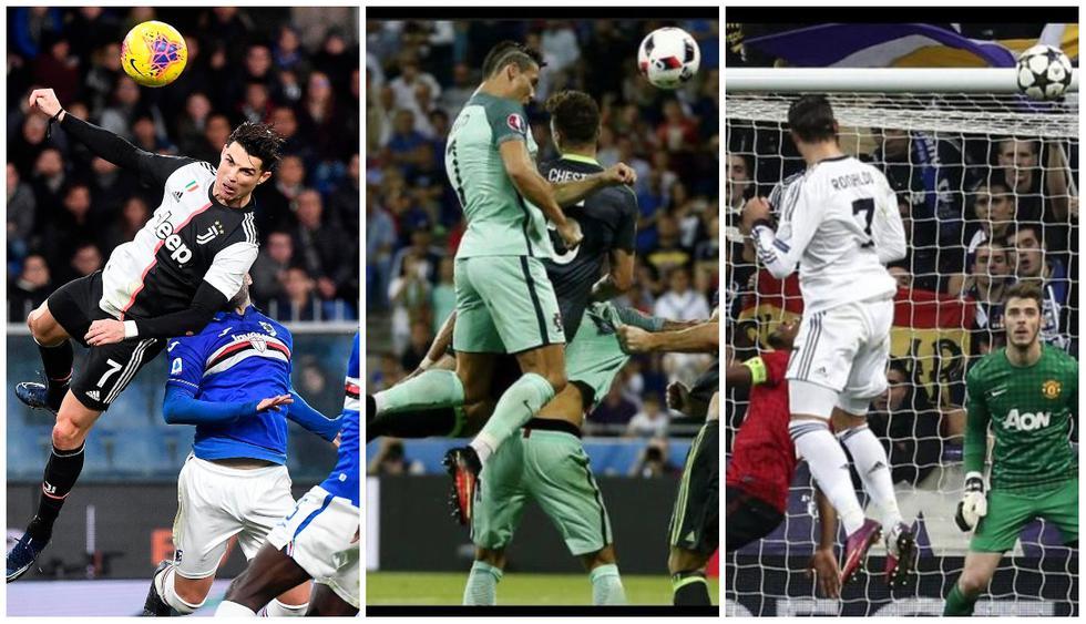 Los saltos más impresionantes de Cristiano Ronaldo. (Fotos: agencias)