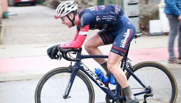 Ciclista de 20 años falleció de un infarto en plena carrera. (Difusión)