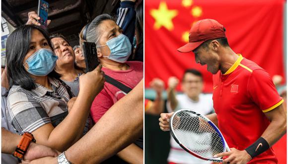 Coronavirus: China no disputará la Copa Davis 2020 por el brote de la enfermedad. (Getty Images)