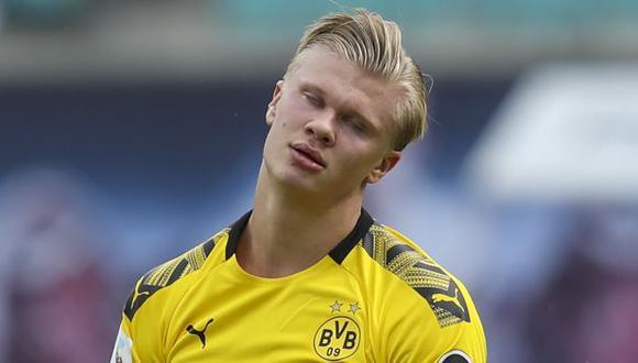 Erling Haaland se unió a Borussia Dortmund a finales del 2019. (Foto: AFP)
