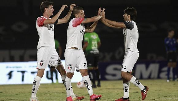 Atlas sacó los tres puntos en su visita al estadio Benito Juárez.