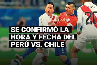 'Clásico del Pacífico': se confirmó la fecha y hora del Chile vs. Perú que se disputará en Santiago