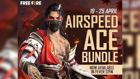 Free Fire: guía para obtener el Airspeed Ace Bundle en el parche OB27