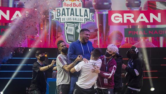 Stick es el último campeón de la Red Bull Batalla de los Gallos Perú 2021. (Content Pool de RedBull)