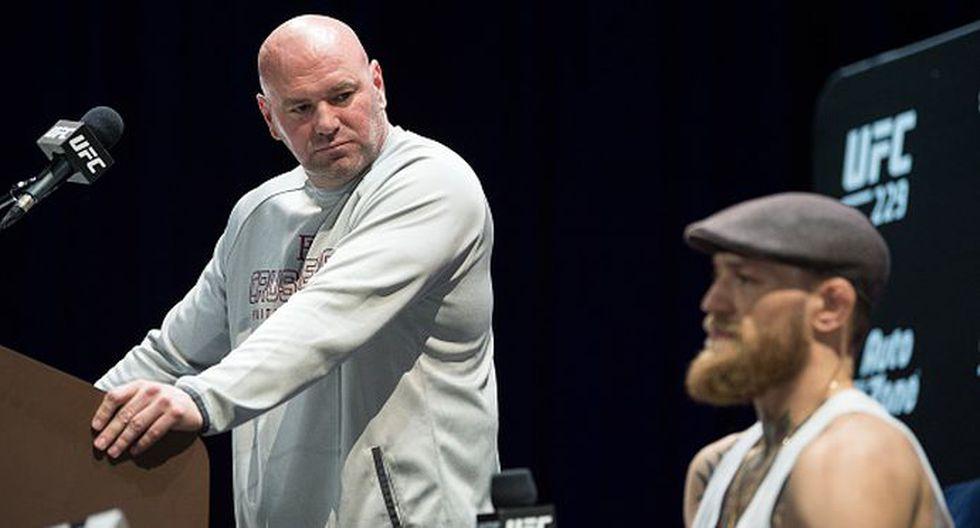 Dana White criticó a Conor McGregor tras anunciar su polémico retiro. (Getty Images)