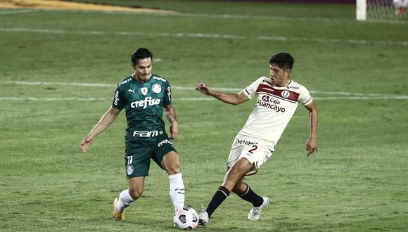 Universitario vs. Palmeiras en el Monumental por la Copa Libertadores. (Foto: GEC)