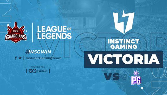 Claro Guardians League: Instinct Gaming asegura su pase a semifinales. (Foto: Instinct Gaming)