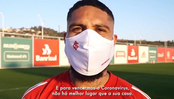 Paolo Guerrero mandó un mensaje a los hinchas de Inter. (Captura)