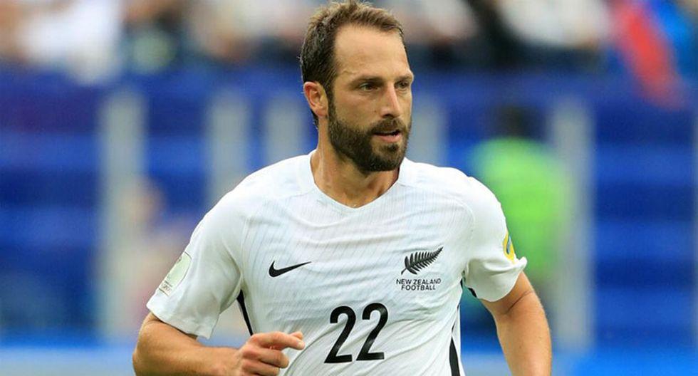 Perú vs. Nueva Zelanda: defensa de los All Whites pudo jugar en la blanquirroja. (New Zealand Herald)