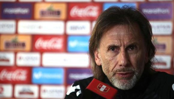 Ricardo Gareca brindará conferencia de prensa esta tarde. (Foto: FPF)