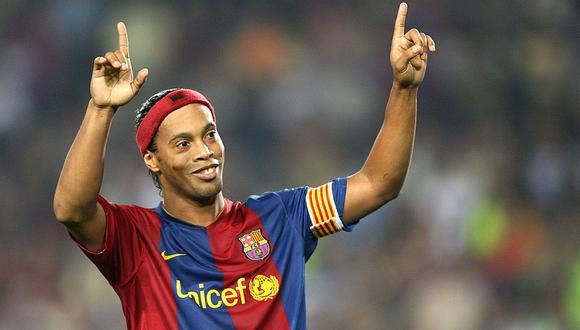 Ronaldinho tiene una media de 89 (VIDEO)